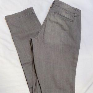 Talbots Gray Trouser Slim Jeans - Size 6 Long